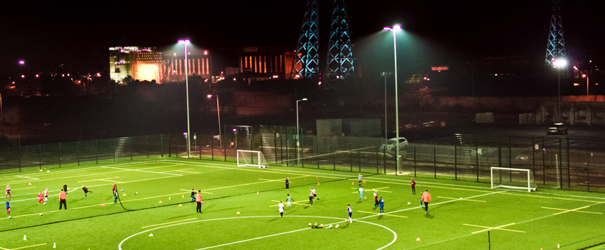 middlesbrough college astro turf