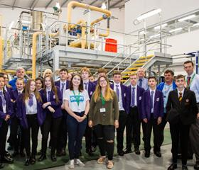 Year 9 and 10 students from Unity City Academy and Hollis Academy spent a day at Middlesbrough College's STEM Centre imagining they worked for a toy company that produced this summer's craze.