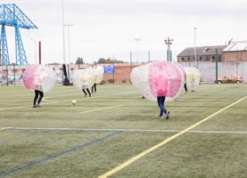 Bubble Football Middlesbrough College