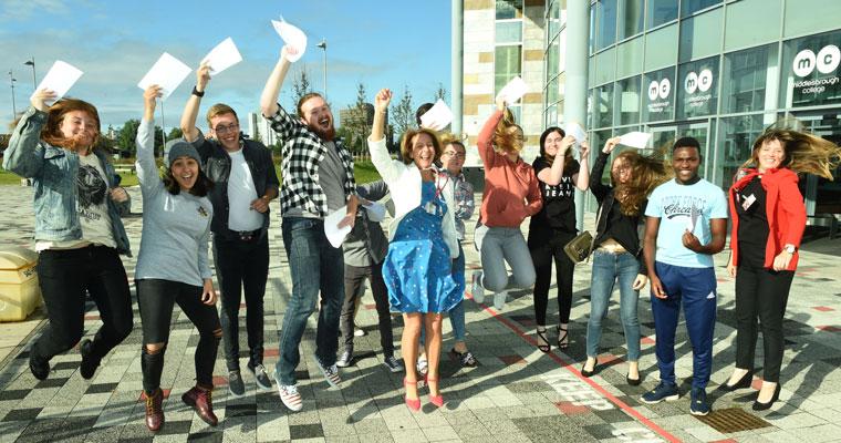 Middlesbrough College Enrolment