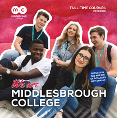 Middlesbrough college full time guide