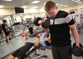 Gym Middlesbrough College