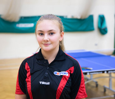 Middlesbrough College Table Tennis Academy