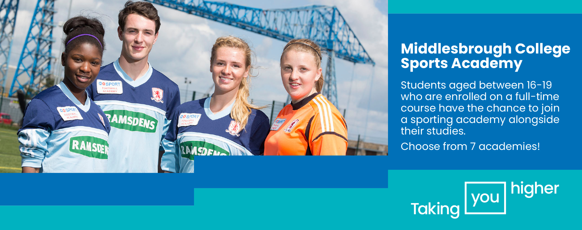 Middlesbrough College Sports Academies