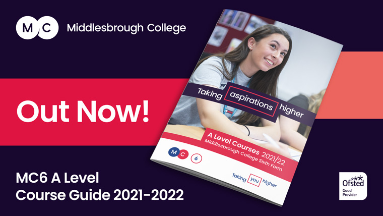 Middlesbrough College A Level Course Guide