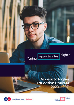 Middlesbrough College Access to HE Guide