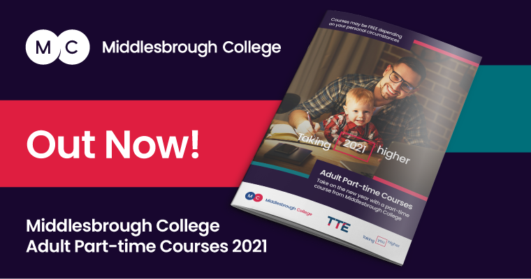 Middlesbrough College Adult Part Time Guide