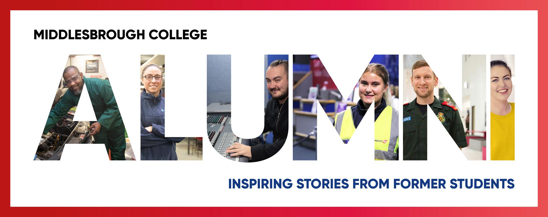 Middlesbrough College Alumni