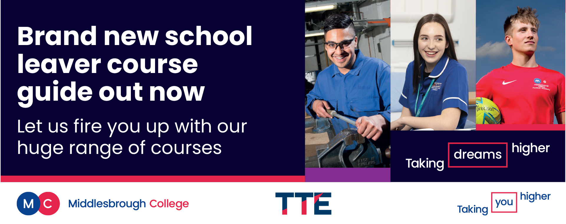 Middlesbrough College Course Guide