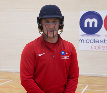 Middlesbrough college cricket academy testimonials