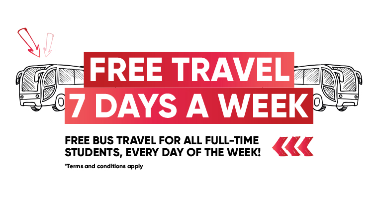 Middlesbrough College Free Travel