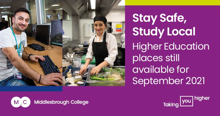 Middlesbrough College HE Courses