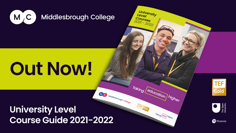 Middlesbrough College Higher Education Guide
