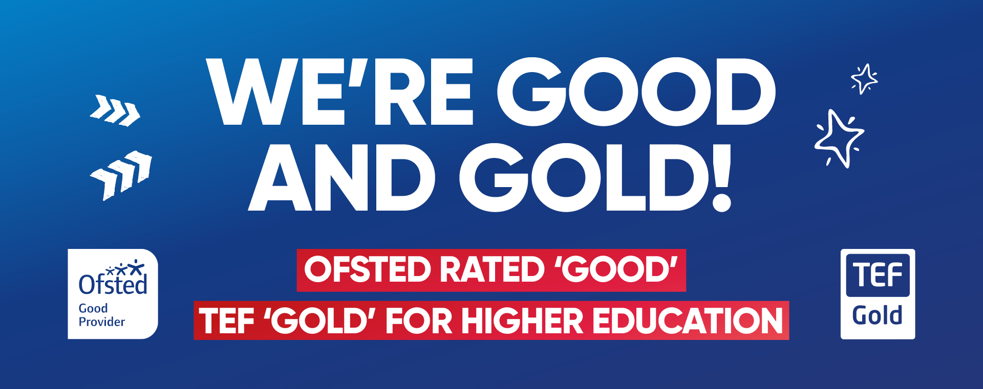 Middlesbrough College Ofsted Good TEF Gold