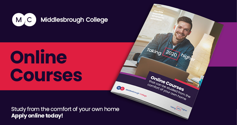 Middlesbrough College Online Learning Brochure