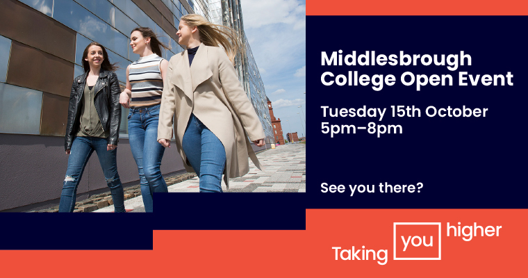 Middlesbrough College Open Event