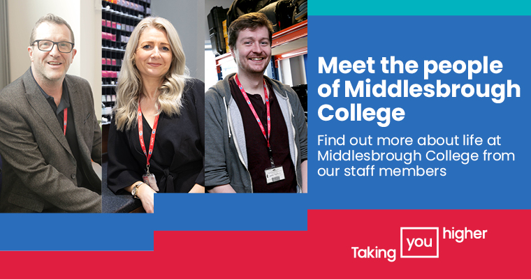 Middlesbrough College Our People