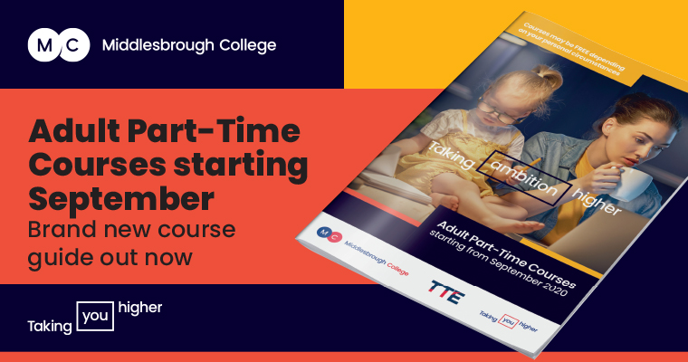 Middlesbrough College Part Time Course Guide