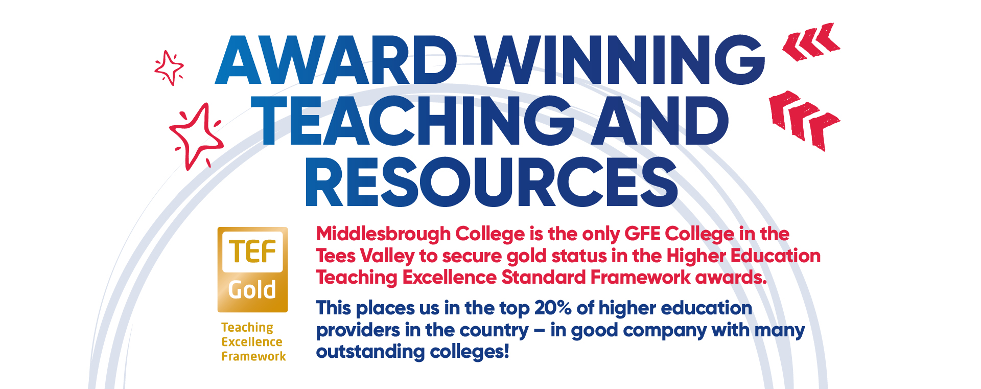 Middlesbrough College TEF Gold