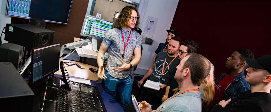 Music Tech Middlesbrough College