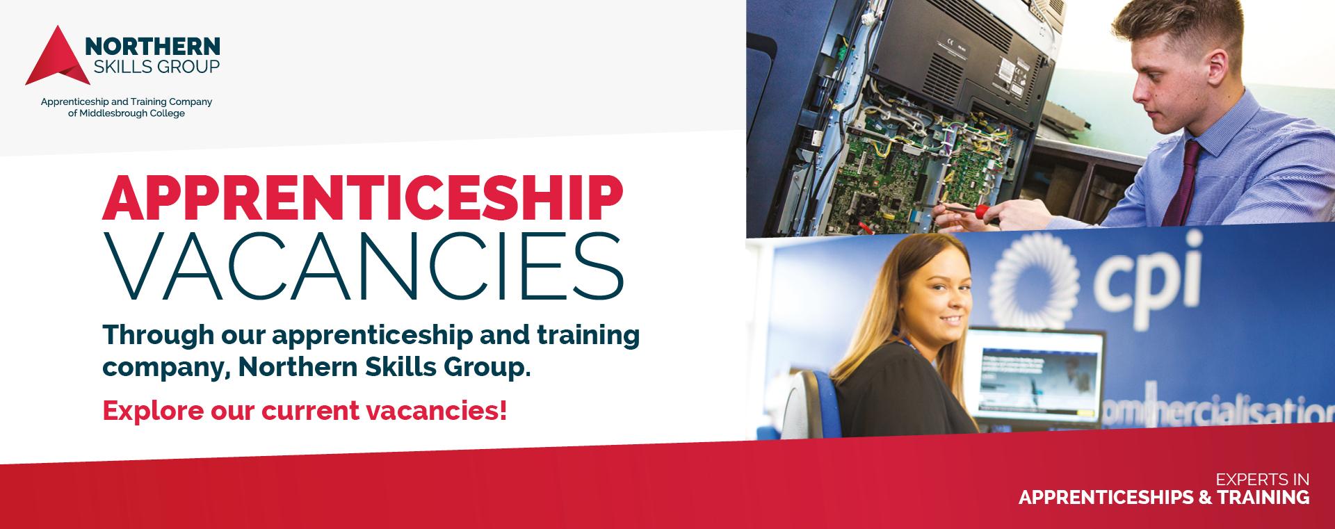 Northern Skills Group Apprenticeship Vacancies