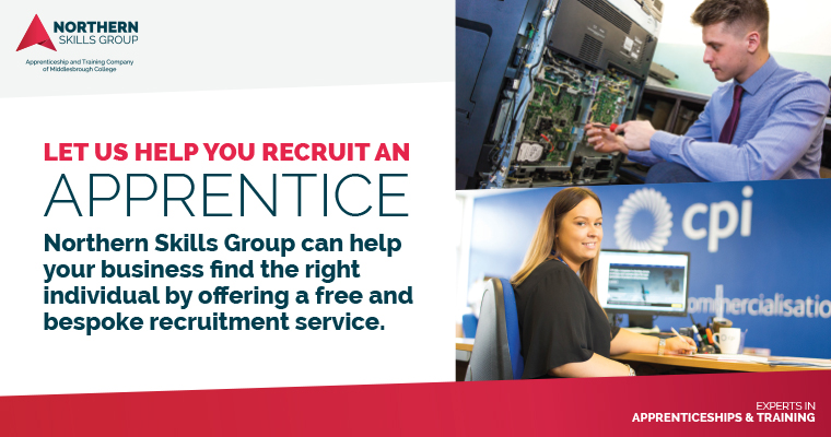 Northern Skills Group Recruit an Apprentice