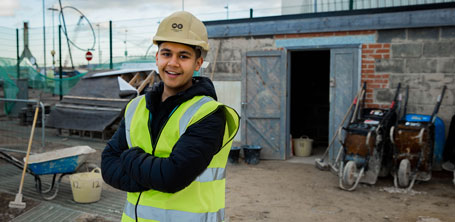 Construction Trades | Career Choices | Middlesbrough College