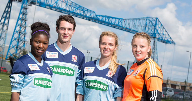 Sports Academies Middlesbrough College