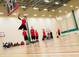 Sports Hall Middlesbrough College