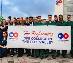 Top Performing GFE Middlesbrough College