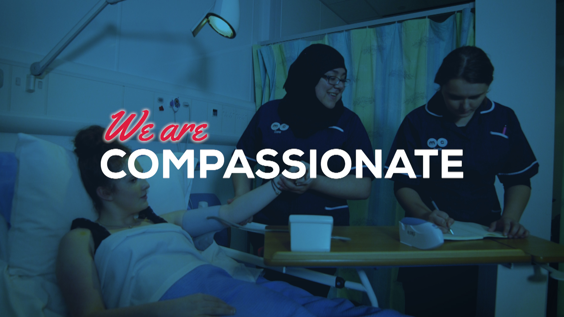 We are compassionate