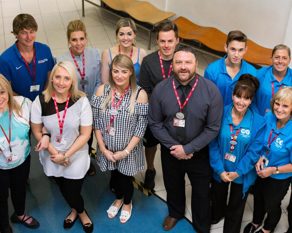 Middlesbrough College Student Services Team
